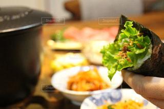 手巻き寿司の写真・画像素材[1022612]
