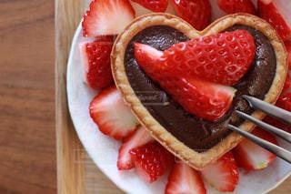 いちごチョコレートの写真・画像素材[1025659]