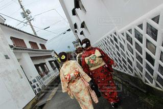 城下町と着物の写真・画像素材[1079418]