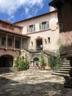 ヨーロッパ風の石造りの建物の写真・画像素材[1278397]