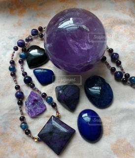 紫と青の写真・画像素材[1113917]