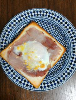朝のトーストの写真・画像素材[1531170]