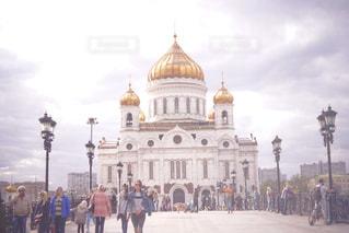 救世主ハリストス大聖堂の写真・画像素材[1022774]