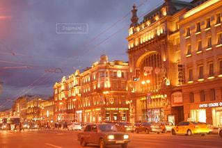 サンクトペテルブルクにある大きな通り - No.1022842
