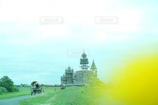 キジ島にある顕栄聖堂の写真・画像素材[1022843]