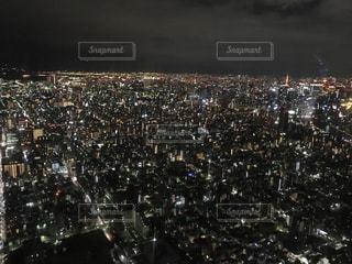 スカイツリーからの夜景の写真・画像素材[1023358]