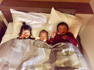 そろそろ寝ますよー。の写真・画像素材[1022939]