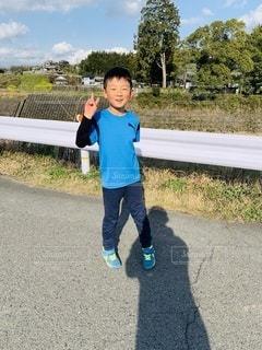 マラソンの練習!の写真・画像素材[3551178]