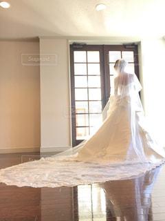 ウェディングドレスの写真・画像素材[1032840]