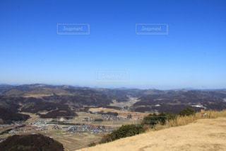 高台からの景色の写真・画像素材[1044287]