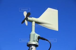 青空と風車の写真・画像素材[1044290]