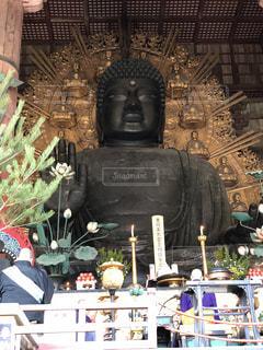 奈良の大仏の写真・画像素材[1053226]