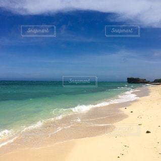 砂浜のビーチの写真・画像素材[1023773]