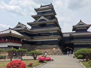 松本城の写真・画像素材[1025445]