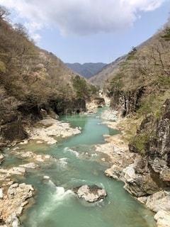 きれいな色の川の写真・画像素材[3310215]