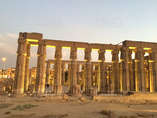 ルクソール神殿の写真・画像素材[1023942]