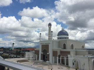 ブルネイの空港から見えるモスクの写真・画像素材[1023950]