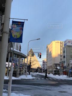 ある冬の日の写真・画像素材[1024009]