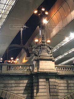 日本橋の麒麟の像の写真・画像素材[1023985]