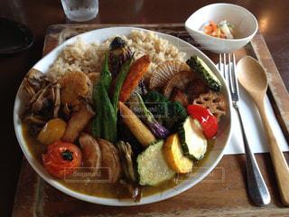 野菜たっぷりカレーの写真・画像素材[1026669]