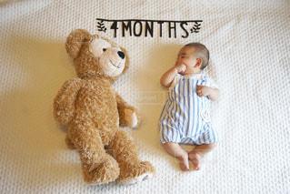 赤ちゃんの写真・画像素材[690229]