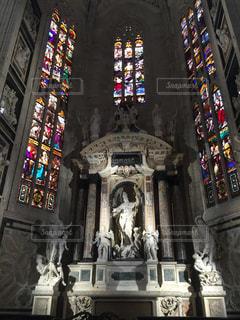 ミラノ大聖堂の写真・画像素材[1024477]