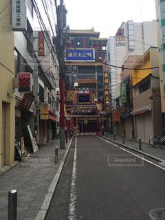 横浜中華街の写真・画像素材[1024647]