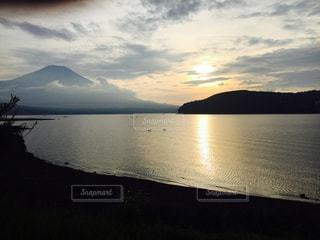 富士湖畔の写真・画像素材[1024928]