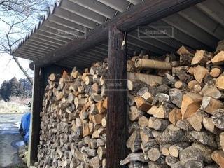薪の写真・画像素材[1024934]