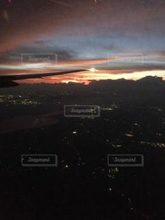 飛行機からの眺めの写真・画像素材[1025363]