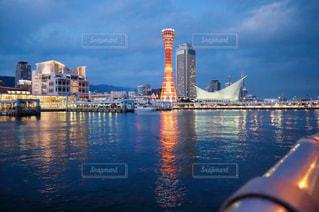 神戸の夜の写真・画像素材[1509084]
