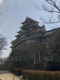 岡山城の写真・画像素材[1055682]