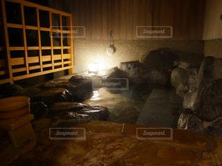 露天風呂の写真・画像素材[1026246]