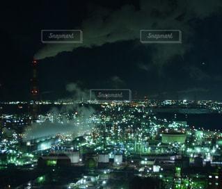 夜の街の景色の写真・画像素材[1026279]