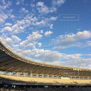 大規模なスタジアムの写真・画像素材[807215]