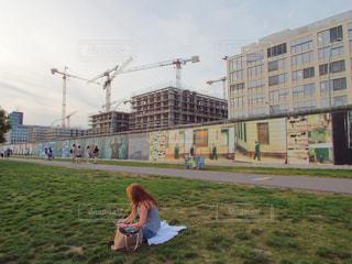 ベルリンの壁の写真・画像素材[1026887]