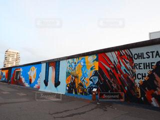 ベルリンの壁の写真・画像素材[1026889]