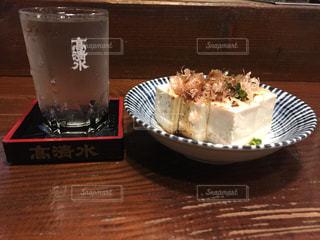 日本酒と豆腐の写真・画像素材[1026679]