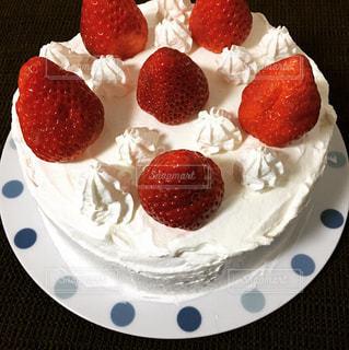 手作りショートケーキの写真・画像素材[1026716]