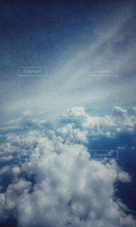 雲の上の写真・画像素材[1033320]
