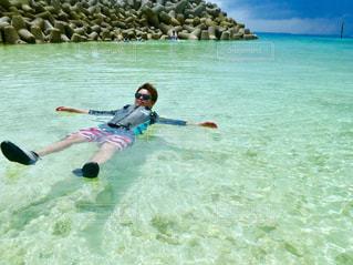 沖縄のビーチの写真・画像素材[1027927]