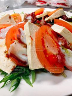 食品のプレートの写真・画像素材[1028762]