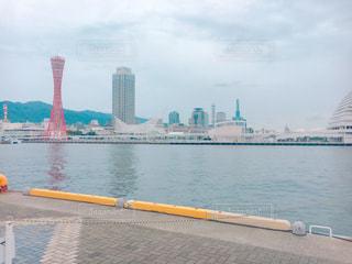 お昼の神戸デートの写真・画像素材[1031768]