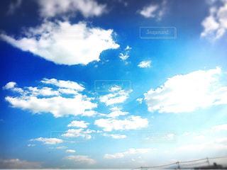 晴天の空の写真・画像素材[1034464]