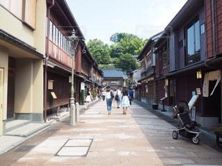 金沢 ひがし茶屋街の写真・画像素材[1029469]