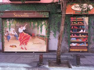スペインの街角の写真・画像素材[1030080]