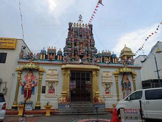 ペナンのヒンドゥー教寺院の写真・画像素材[1318126]