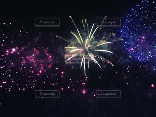 夜空の花火の写真・画像素材[1029881]