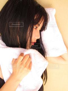 お風呂上がりの写真・画像素材[1059548]