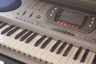 キーボード 電子ピアノの写真・画像素材[1425010]